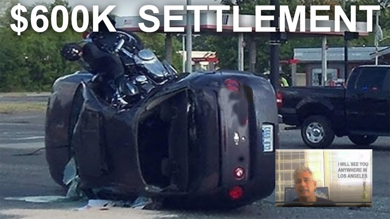 Best reviewed Motorcycle crash attorney wins $600K ...