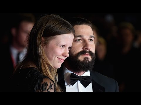EXCLUSIVE: Mia Goth 'Really Proud' of 'Brilliant Actor' Husband Shia LaBeouf