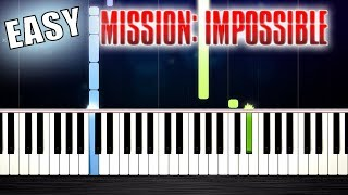 Baixar MISSION IMPOSSIBLE Theme - EASY Piano Tutorial by PlutaX