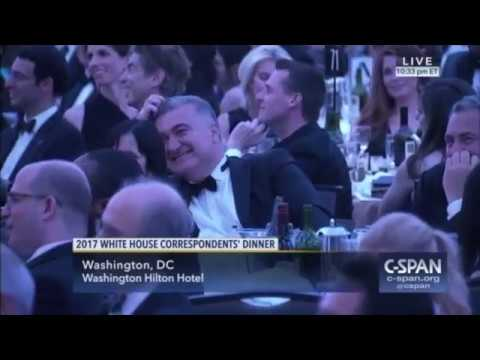 C-SPAN jokes told by comedians at White House Correspondents Dinners