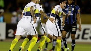 Gol de Pablo Pérez - Independiente del Valle 0-1 Boca - IDA semifinal de Copa Libertadores 2016