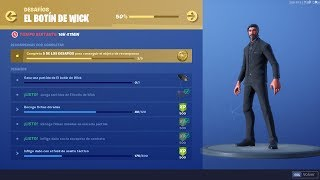 LA BOTTE WICK - FORTNITE