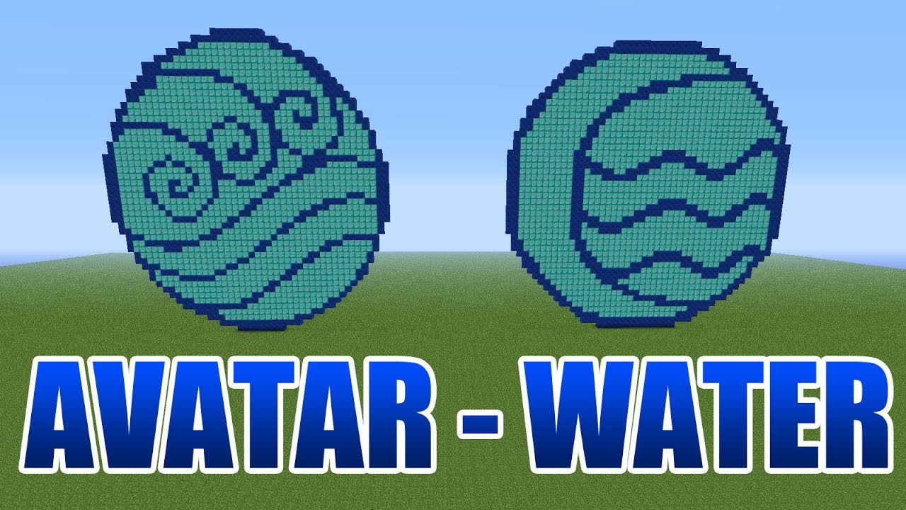 Avatar the last airbender water pixel art minecraft youtube avatar the last airbender water pixel art minecraft biocorpaavc Image collections