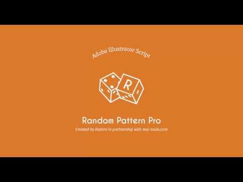 Random Pattern Pro Illustrator script