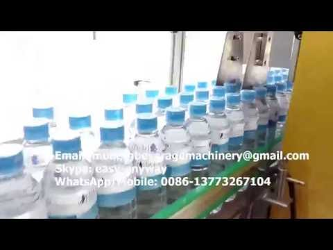 mineral water bottling plant, small water bottling line, spring water bottling process