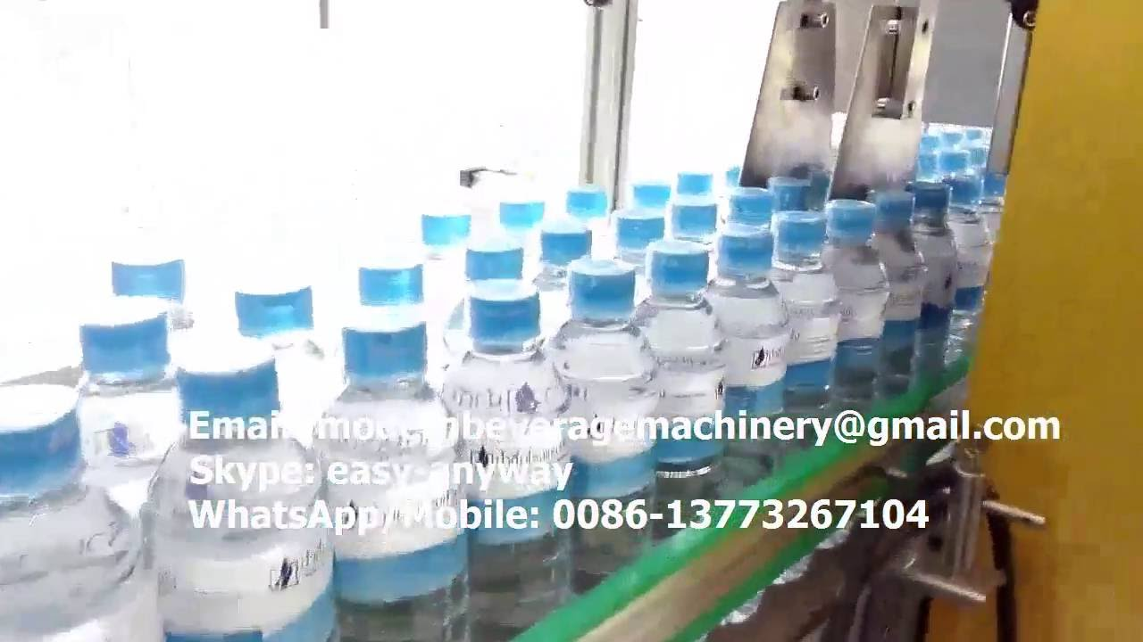 Mineral Water Bottling Plant Small Water Bottling Line