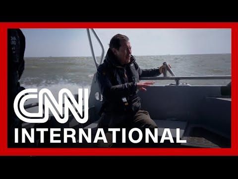 CNN goes aboard Ukrainian patrol boat challenging Russian navy