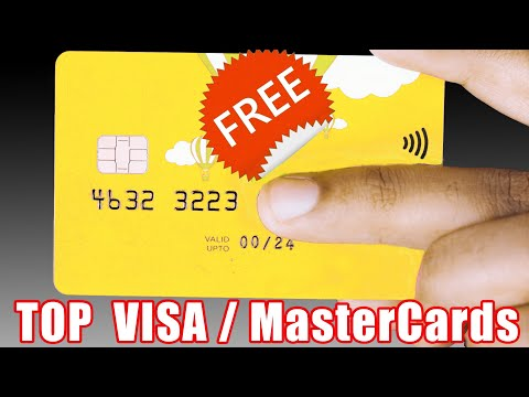 How To Get A FREE VISA/MasterCard Worldwide - Top 10 International Cards For All Countries #3 Pt. 3
