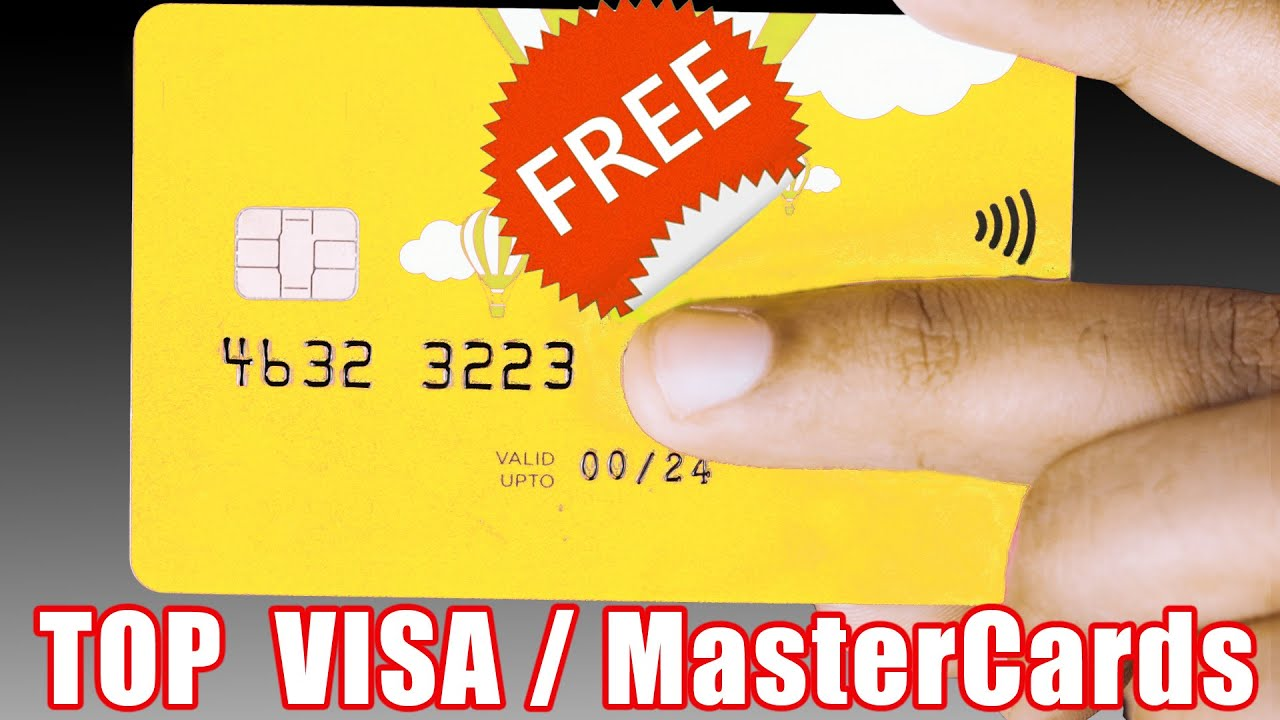 How to get a FREE VISA/MasterCard Worldwide - Top 7 International Cards For All Countries #7 Pt. 7