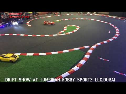 RC Drift Show Jumeirah-Hobby Sportz LLC, Dubai... Come and Play in our Track Free