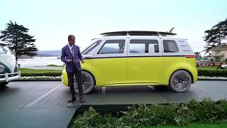 Volkswagen I.D. Buzz at the 2017 Pebble Beach Concours d'Elegance
