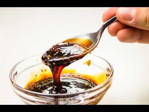 Teriyaki Sauce and Thick Teriyaki Glaze  Recipe