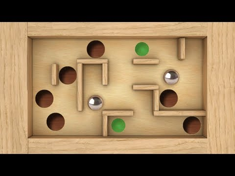 Classic Labyrinth 3d 2 - The tilt 3d maze game with the steel ball volume 2