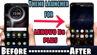 How To Change Themes In Lenovo K8 Plus