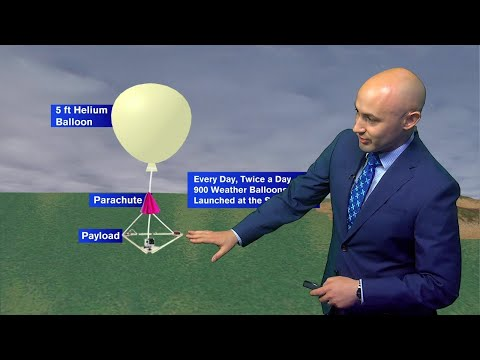 Agawam Junior High School to launch weather balloon to edge of space Thursday