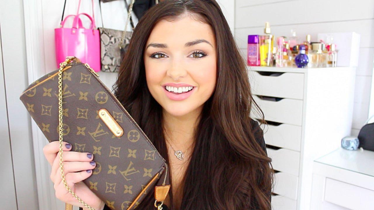 da29a898b Handbag Reveal: Louis Vuitton Eva Clutch Monogram + How To Buy Pre Loved    Chloé Zadori - YouTube