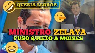 ✔Ministro Zelaya DEFENDIÓ El Gobierno & Moises Urbina Queria Llorar De Celos 🤣😂