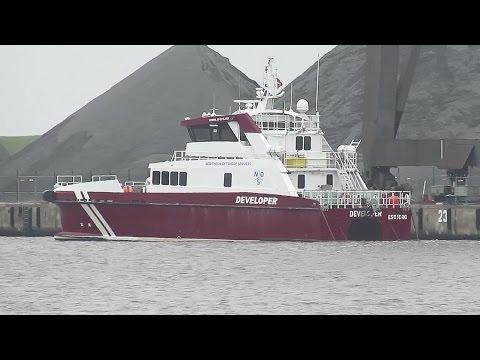 offshore crew speedboat DEVELOPER OWPI2 IMO 9717541 Emden