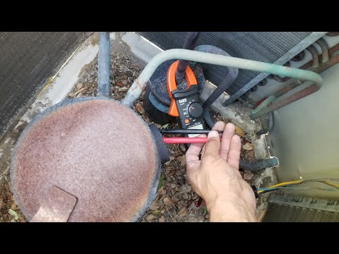 How to Test For BAD Compressor. Ohms Test With MultiMeter