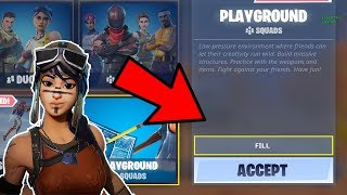 🔴  PLAYGROUND-FILL WITH RENEGADE RAIDER! // PRO BUILDER // 15 YEAR OLD PLAYER