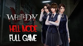 White Day: A Labyrinth Named School Hell Mode Full Game Walkthrough Gameplay (Ebony Ending)