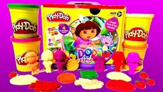 Play Doh Dora The Explorer Playset Playdough Hasbro Kit Play-Doh Dora La Exploradora