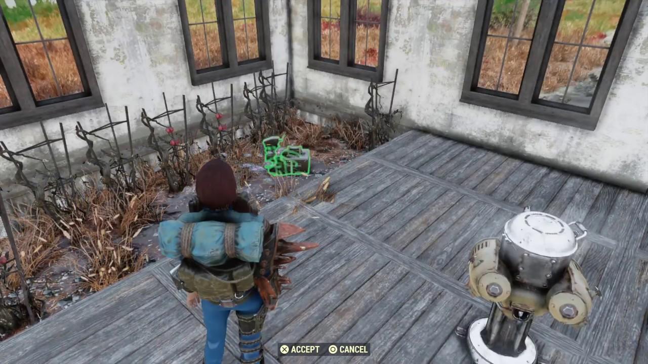 Fallout 76 camp duplication glitch/exploit infinite junk in stash - read  description FIXED 01/29/19