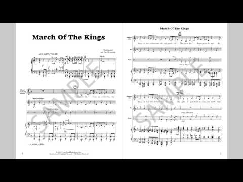 March Of The Kings - MusicK8.com Singles Reproducible Kit