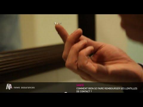 Le remboursement des lentilles de contact - YouTube f4290d75f373