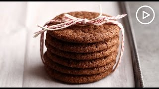Gluten-Free Chewy Molasses-Spice Cookie