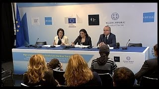 Informal ministerial meeting for tourism - 10/03/2014- press conference