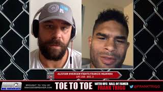 Frank Trigg pre-fight interview with UFC 218's Alistair Overeem