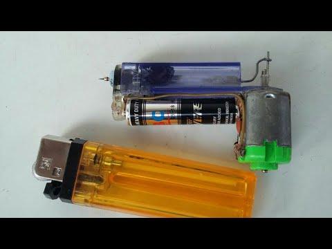 Mesin tato dari korek gas