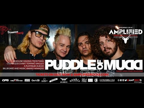 """Puddle of Mudd - Northleach, England - Full Concert - July 21, 2017 """"Amplified 2017"""""""