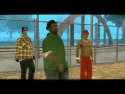 Eazy E- Real Muthaphuckkin G's GTA San Andreas