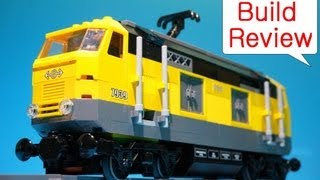 Lego 7939 Cargo Train - Stop motion Build Review (레고 화물열차 장난감 스톱모션)