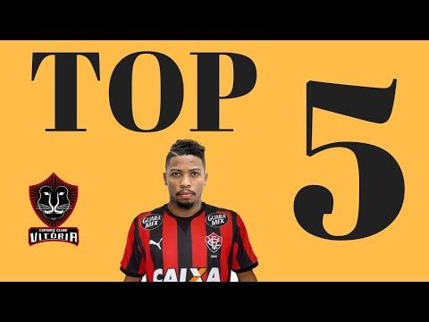 TOP 5 - GOLS EM MOMENTOS EMOCIONANTES DO VITÓRIA