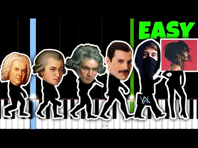 Evolution Of Piano Music [1707 - 2018]... And How To PLAY IT!