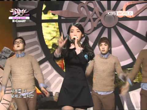 [Music Bank K-Chart] IU - You & I (2011.12.02)