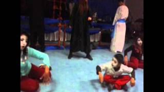 "Pantomina cristiana ""TUS MANOS CLAVADAS""...Grupo juvenil...OASIS DE VIDA.."