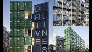 Block made from shipping containers like 'Stacks' in Spielberg film - Daily News