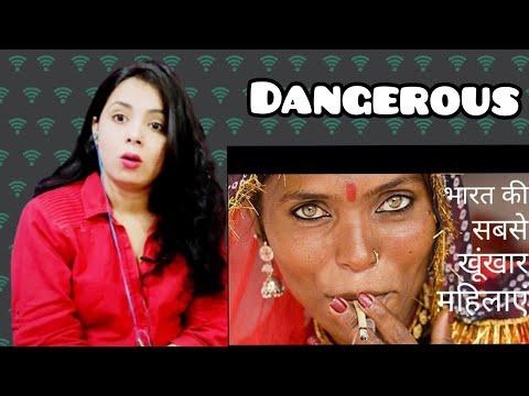 Extreme Lady Dons Of India | भारत की सबसे खतरनाक महिलाए. | Reaction | Nakhrewali Mona