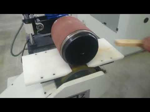 Tambur zımpara-Kalibre makinesi