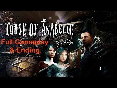 Curse of Anabelle - Full Gameplay Walkthrough & Ending / story driven horror / puzzle Adventure