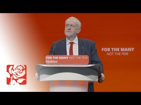 Jeremy Corbyn's Speech to Labour Conference