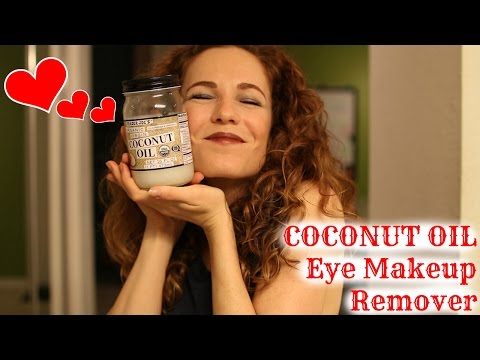 COCONUT OIL – Eye Makeup Remover