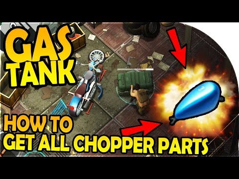WE GOT THE CHOPPER GAS TANK - HOW TO GET ALL CHOPPER PARTS - Last Day On Earth Survival 1.5.4 Update