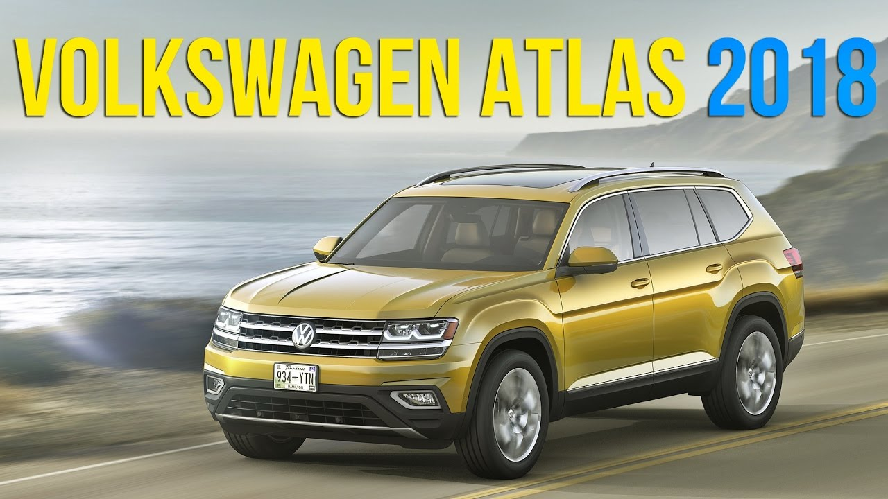 novo volkswagen atlas  youtube