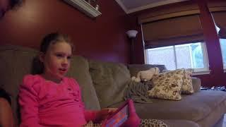 Jillian playing Roblox