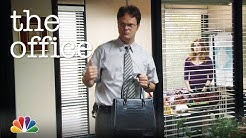 Jim Convinces Dwight to Buy a Purse - The Office